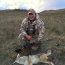 Fr. Corey Nelson hunting Coyote